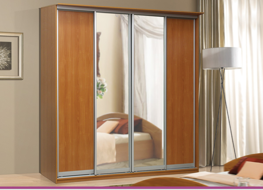 "Мебельная фабрика ""аджио"", г. волжск / шкаф-купе 4-х дверный."