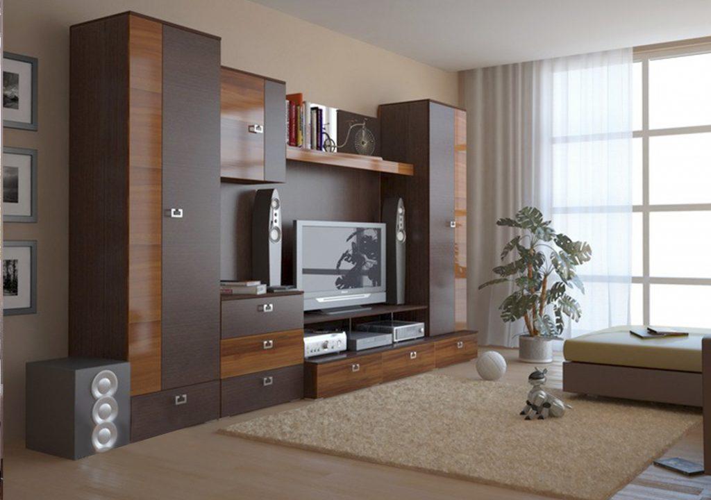 Стенка мерано+шкаф(дуб венге). стенки. мебельная фабрика лин.